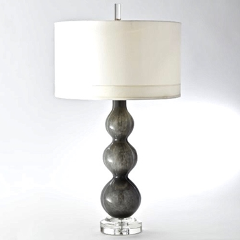 Lamp Table - Cloud Dark Grey 21W/38H
