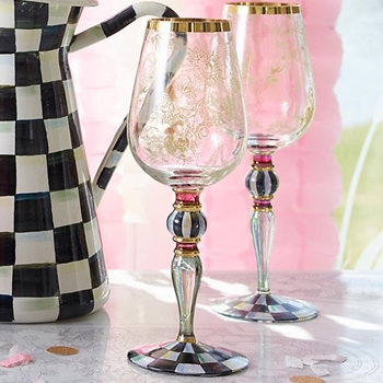 Blooming Wine Goblet 4W/11H  18OZ