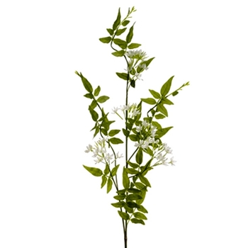 01. Jasmine Vine Spray White 43in