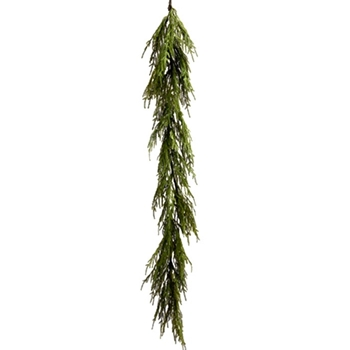 Cedar Weeping Garland Green 72in