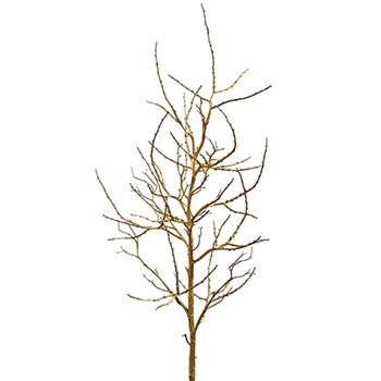 Twig Branch Bare Tall Gold 49in