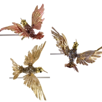 K - Hummingbird Copper, Gild, Bronze  7in