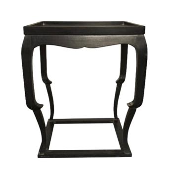 Side Table - Bellini 24x24x28H Hand Rubbed Black