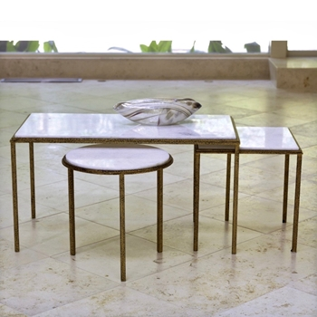 Coffee Table - Hammered Bunching 3 sizes