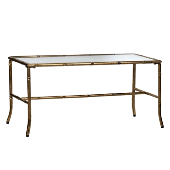 Coffee Table - Bamboo Gold 36W/16D/17H