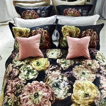 Designers Guild Le Poeme Fleurs Midnight Bedding