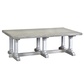Coffee Table - Chambers 54W/32D/18H White Wash
