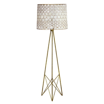 Serena Mirror Floor Lamp