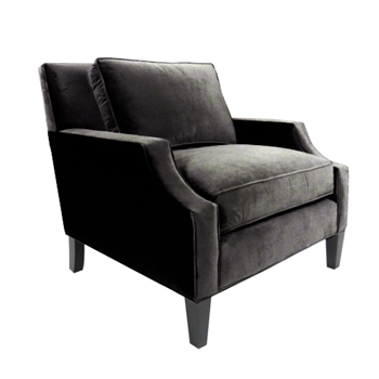 Armandi Chair 34W/38D/34H Graphite Gian