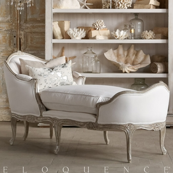 Eloquence® Marie Antoinette Chaise 71D/29D/36H