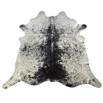 Hide Rug - Salt & Pepper Blk