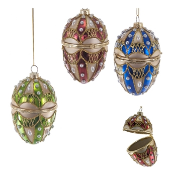 Faberge Box Multi 4in