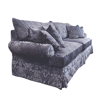 Bishop Sofa 99W/40D/38H Graphite Evans