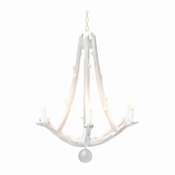 Willow Chandelier 38W/45H