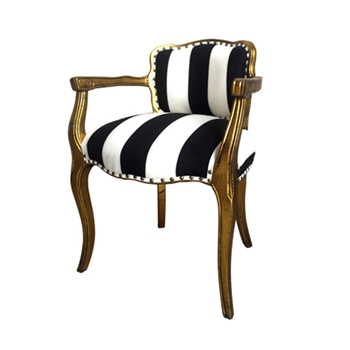 French Chair 22W/23D/30H