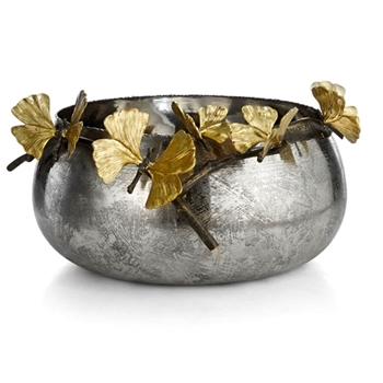 Aram Butterfly Gingko Bowl 15W/3H