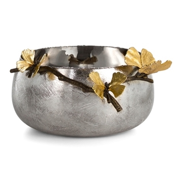 Aram Butterfly Gingko Bowl 12W/6H