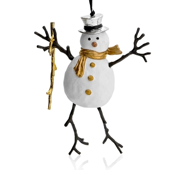 Aram Holiday Ornament Snowman 6IN