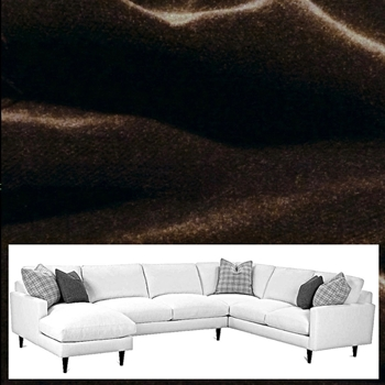 Sectional - Norway Sable 136W/97L/37D/36H
