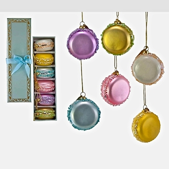 Macaroons Vintage Pastels Box of 6