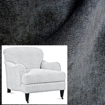 Armchair London Graphite Pepper Velvet 33W/40D/34H
