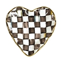 Courtly Plate 8in Heart