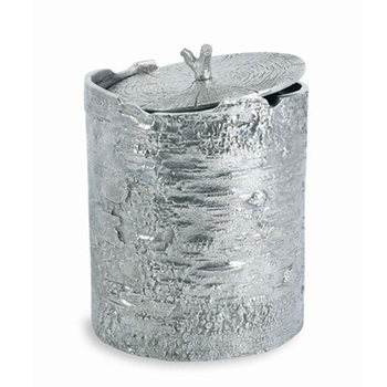 Bark Aluminum Ice Bucket