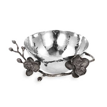 Black Orchid Stainless Steel Bowl