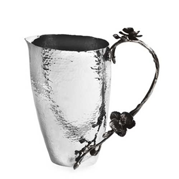 Black Orchid Stainless Steel Jug