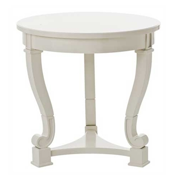 Dorothy White Side Table