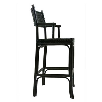 Kyoto Ebony High Barstool