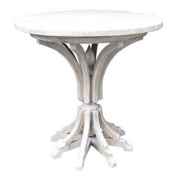 Ashley White Wash Side Table