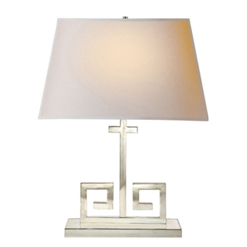 Kate Polished Nickel Table Lamp