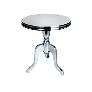 Tri-Foot Aluminum Side Table