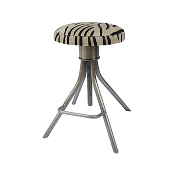 Remington Zebra Barstool