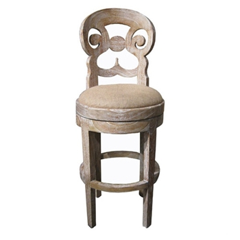 Saragossa Natural Bar Stool