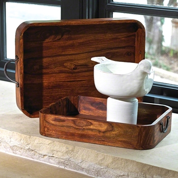 Wood Natural Tray