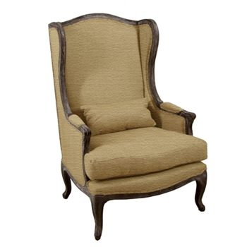 Leon Natural Wing Back Chair