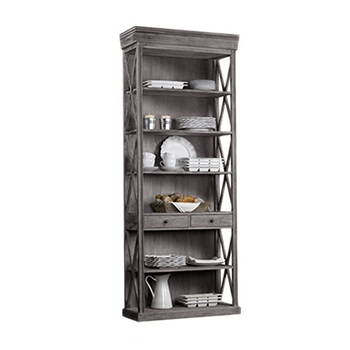 French Bookcase 38W/15D/93H