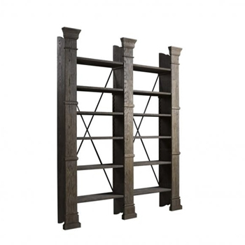 X-Cross Bookcase 80W/13D/94H