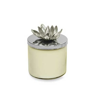 MCA Lidded Lotus Blossom Candle