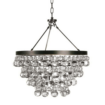 Bronze Bling Chandelier
