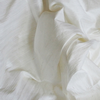 White Silk Agra Off White