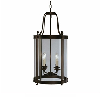 Blake Bronze Pendant Lamp (30in)