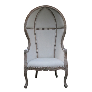 Dome Grey Arm Chair