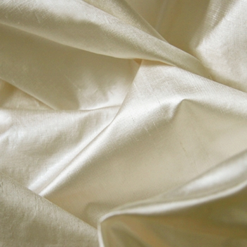 Ivory Silk Lurex Solid