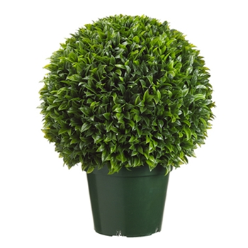 Bayleaf Ball Green Topiary 29in