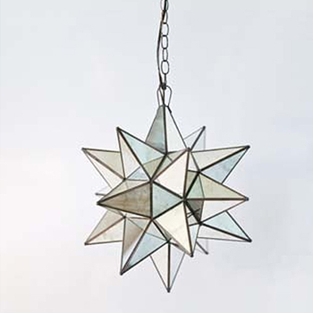 Star Chandelier 15in