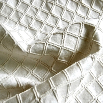 Ivory Jacquard Vecta Washed