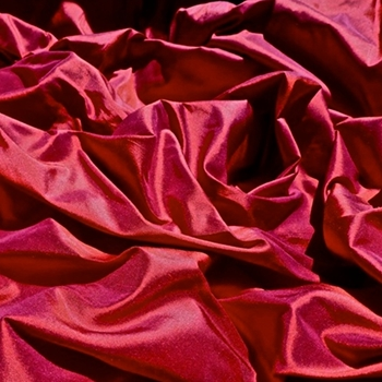 Ruby Silk Shantung